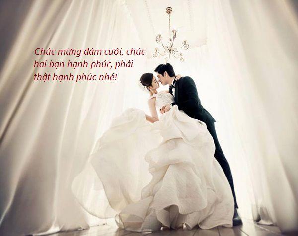 cách viết lời chúc đám cưới hay