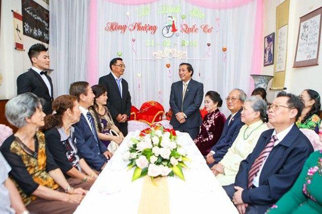 phát biểu trong lễ cưới