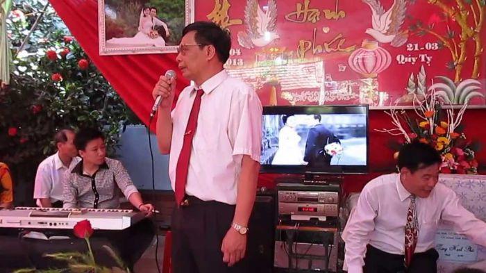 phát biểu trong lễ rước dâu cho nhà gái