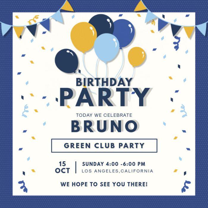 Cách ghi thiệp mời sinh nhật